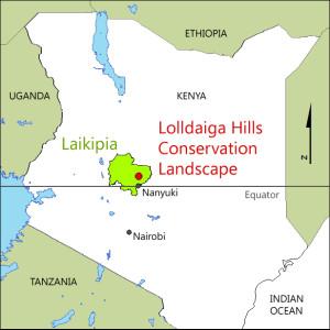 Lolldaiga Hills Conservation Landscape, Kenya